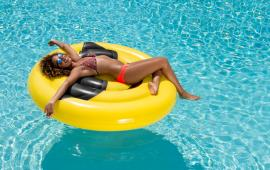 Emoji Sunglasss Pool Float