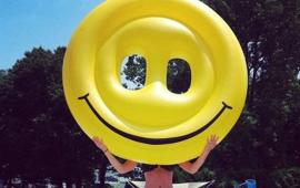 Smiley Face Emoji Float