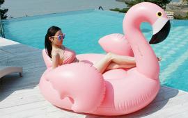 150CM Flamingo Float