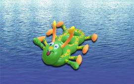 Larva Three Pool Float