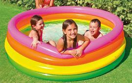 Neon 4 Rings Color Pool