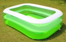 White Green Swimming Pool