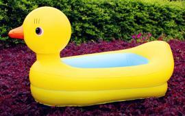 Yellow Duck Swimming Pool