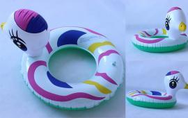 Cartoon Duck Ring Float