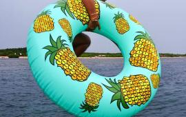 Saulty Pineapple Floats