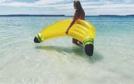 Single banana Pool Float