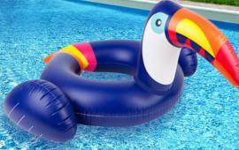 Toucan baby rider float