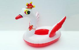 Baby Swan Float with clown