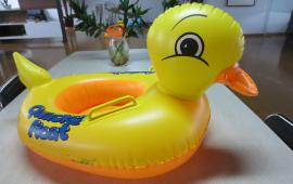 Yellow Duck with handles