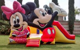 Mickey and Minne Bouncer Slide