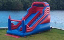 Backyard Inflatable Slide