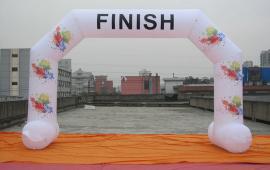 Inflatable Start & Finish Banner